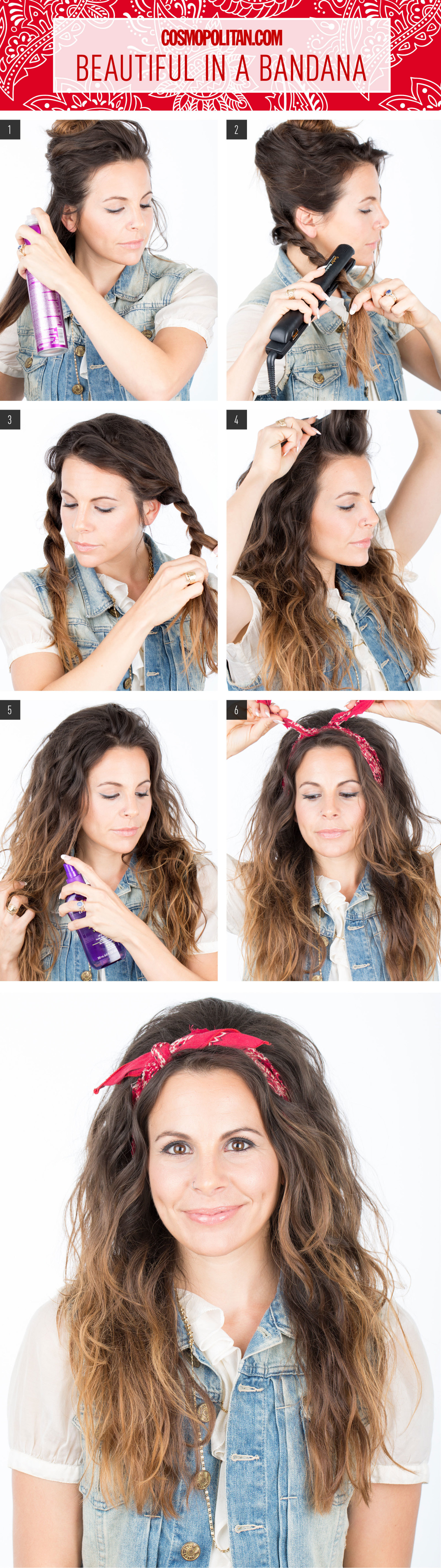 Hair How To Look Beautiful In A Bandana