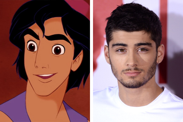 18 Celebrities Who Look Like Disney Characters