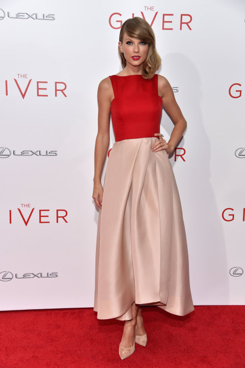At The Giver premiere in New York City on Aug. 11, 2014.