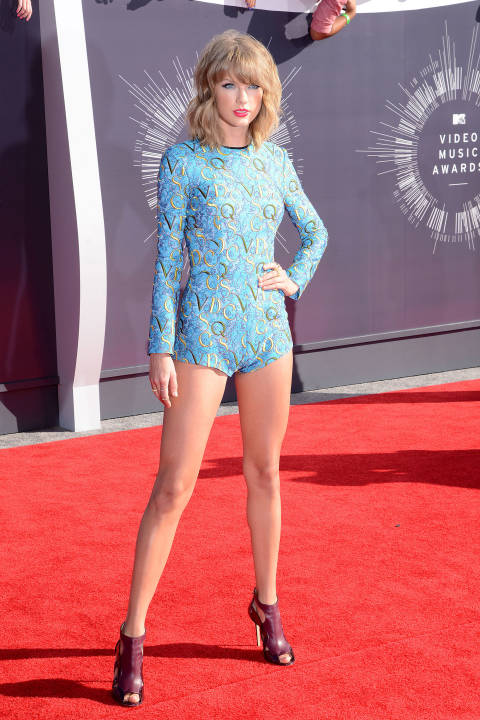 Taylor Swift attends the 2014 MTV Video Music Awards on Aug. 24, 2014.