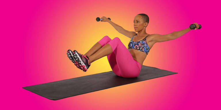 15 New Ways to Use Dumbbells