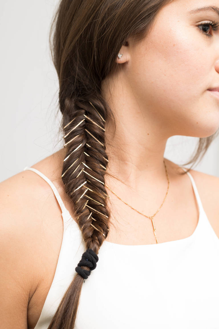 Bobby Pin Hairstyles: Bobby Pin Braid, 12 Gorgeous Bobby Pin ...