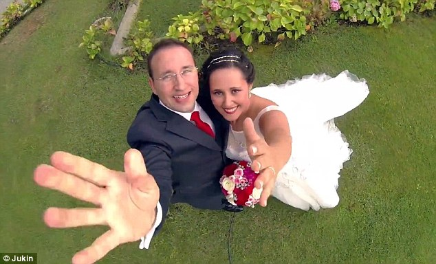 Couple Uses Drone As Ringbearer At Their Wedding