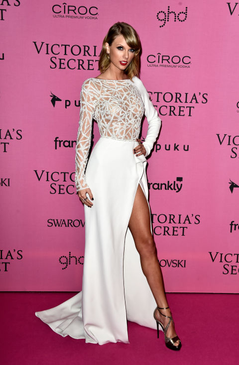 Taylor Swift attends the Victoria's Secret Fashion Show after-party on Dec. 2, 2014, in London.