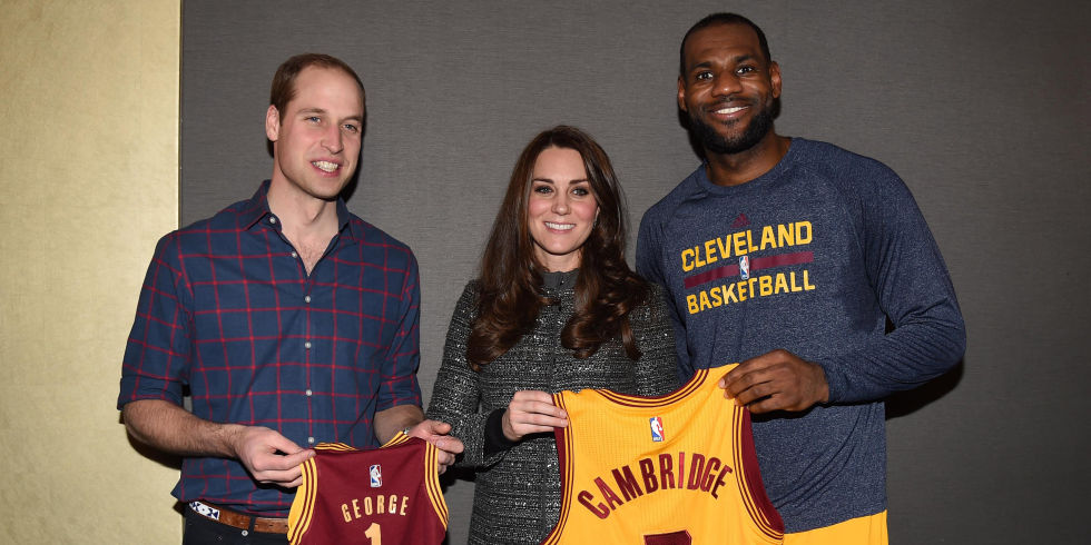 LeBron James Photoshops Prince George Into His New Basketball Jersey