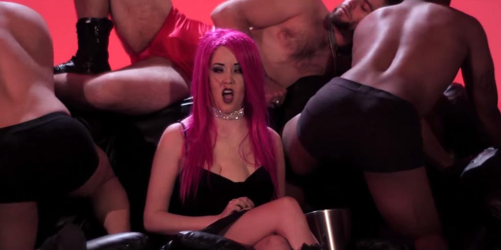 Bondage helpless video woman