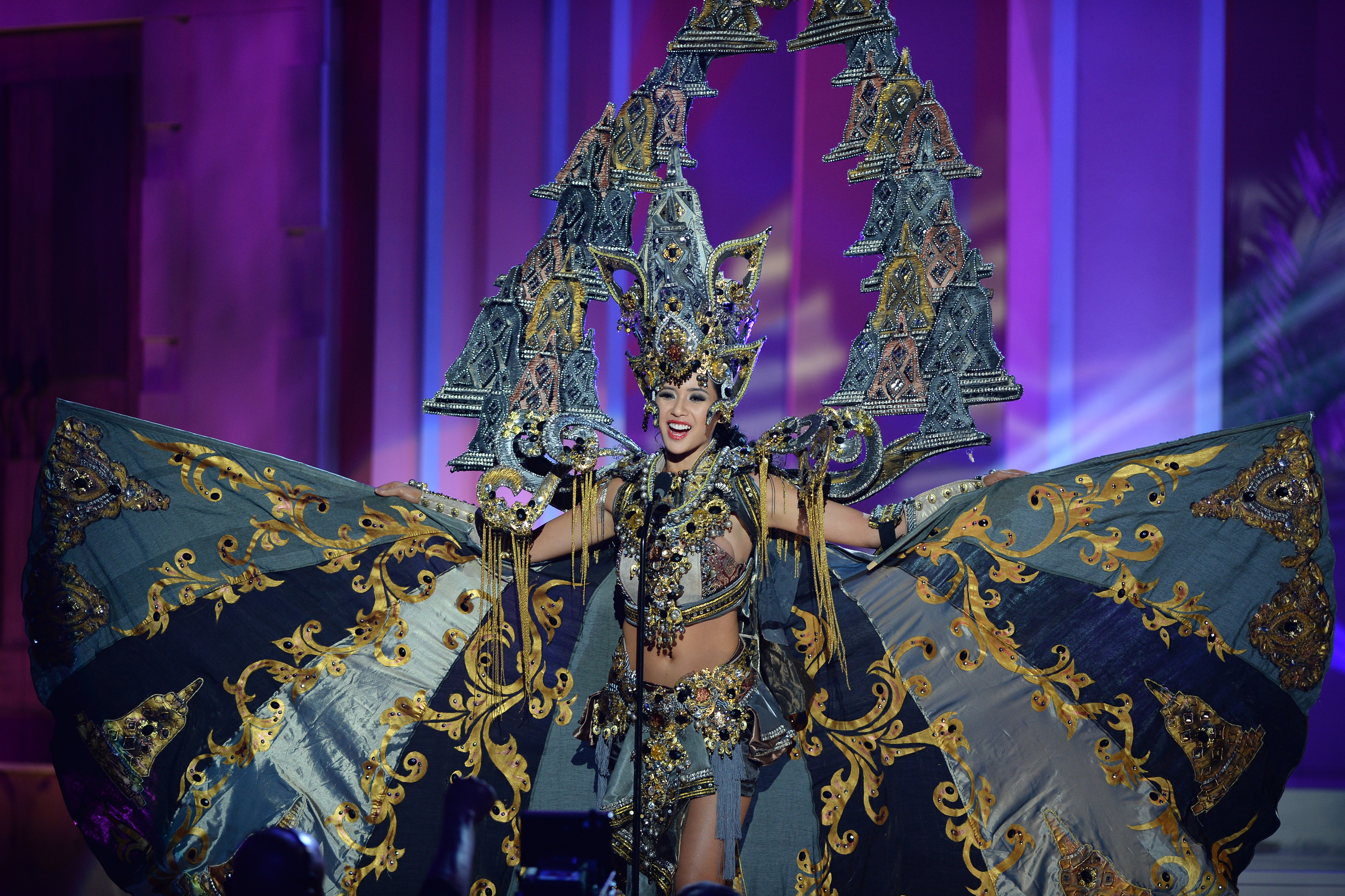 Miss Indonesia Wins Best National Costume At Miss Universe
