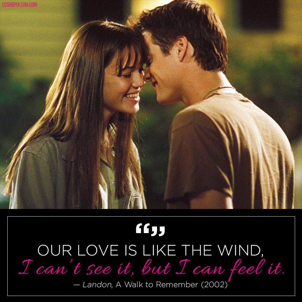 15 crazy romantic quotes from tv and movies