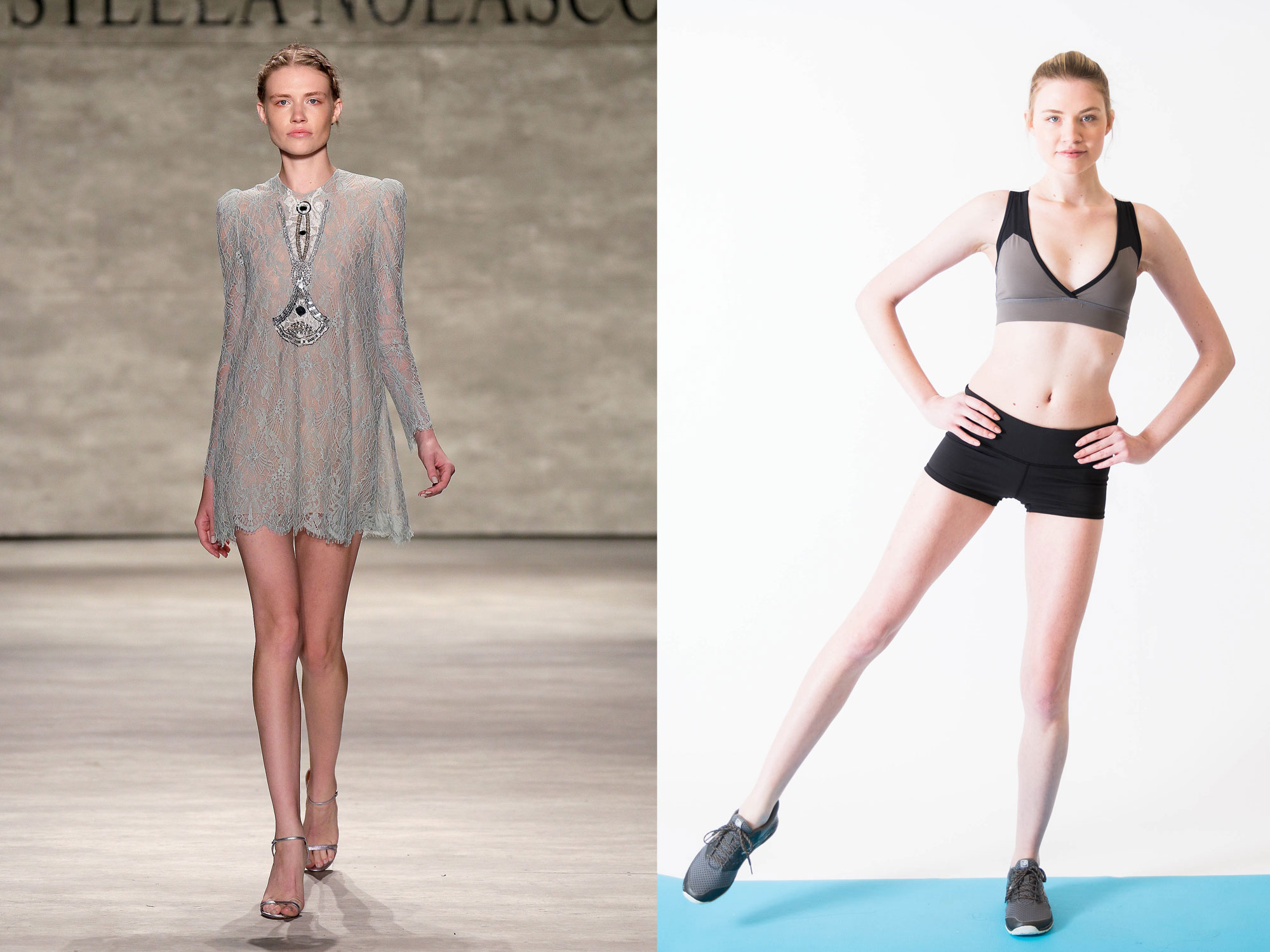6 exercises to give you long  lean runway model legs