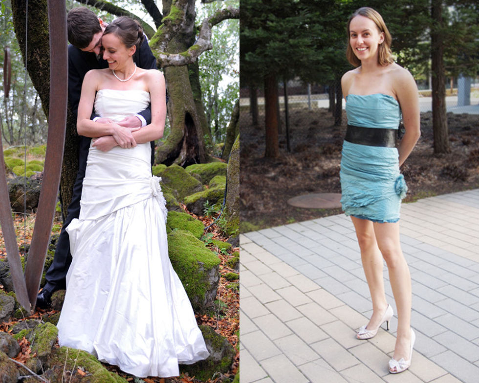 11 Brides Who Gave Their Dresses Mind Ing Makeovers