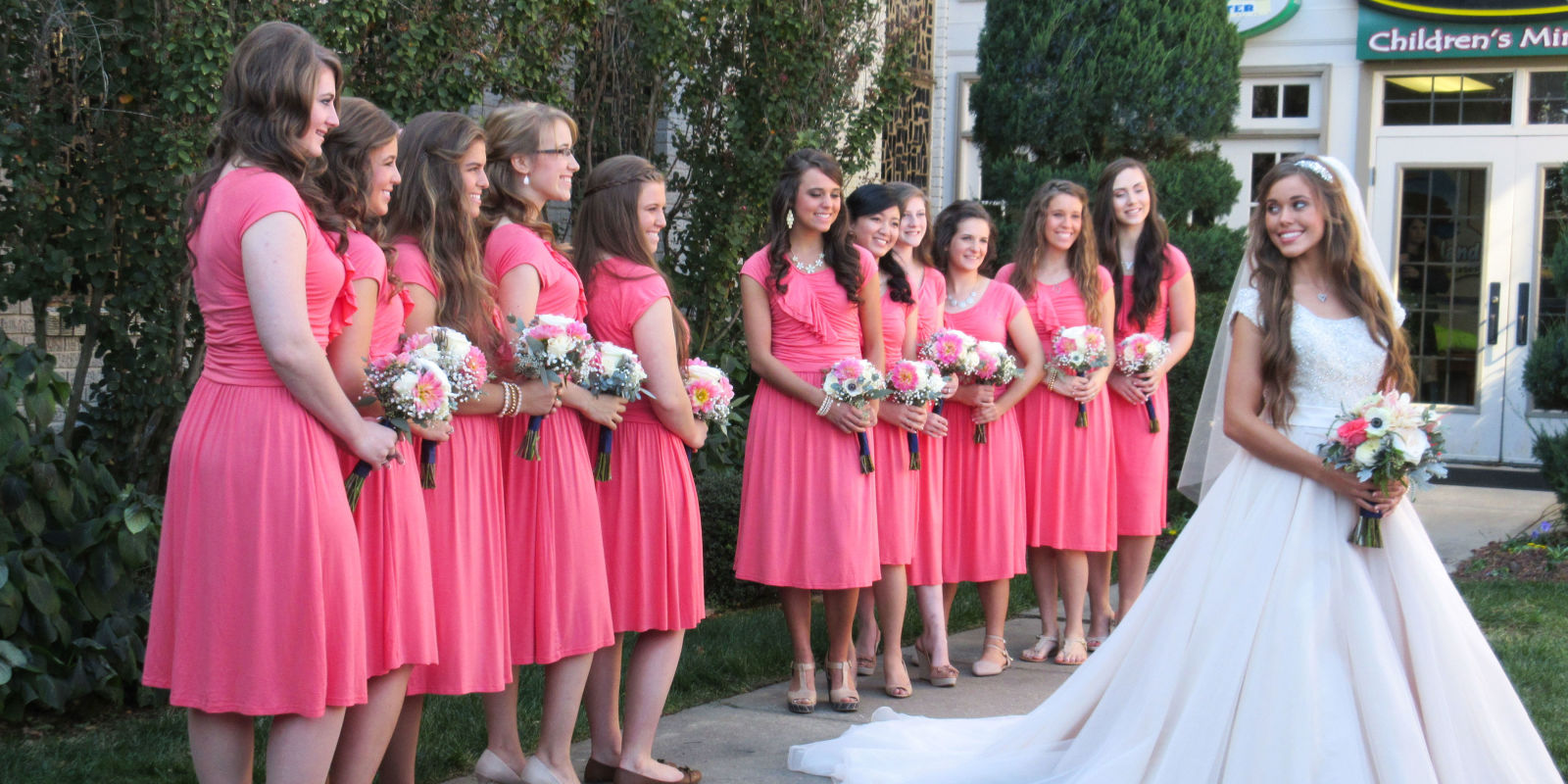 Modern wedding dresses for young: Bridesmaid dresses at jill ...