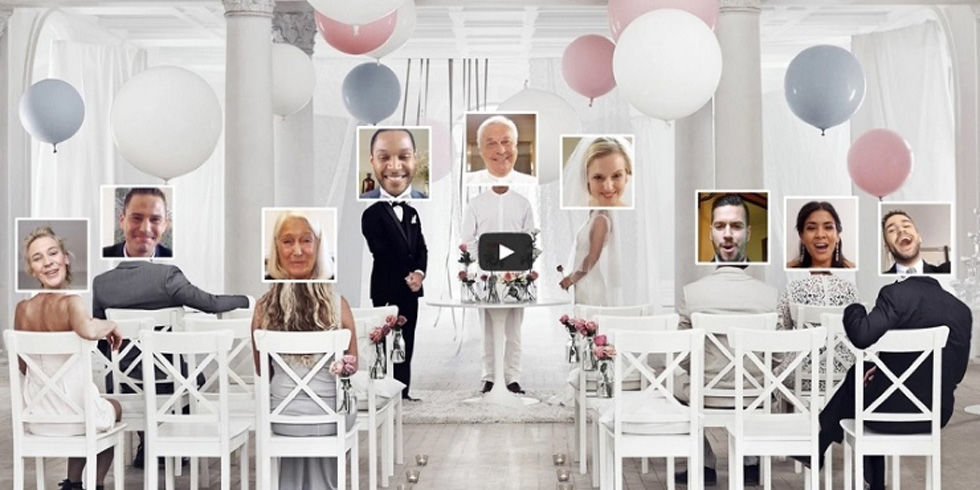 You Can Now Have Your Wedding Online Thanks To Ikea