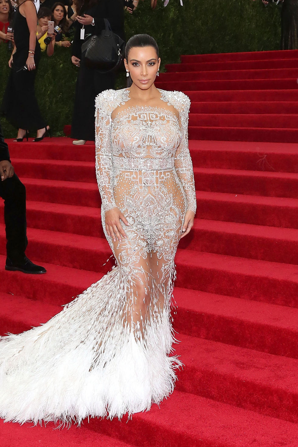pictures of kim kardashian dresses