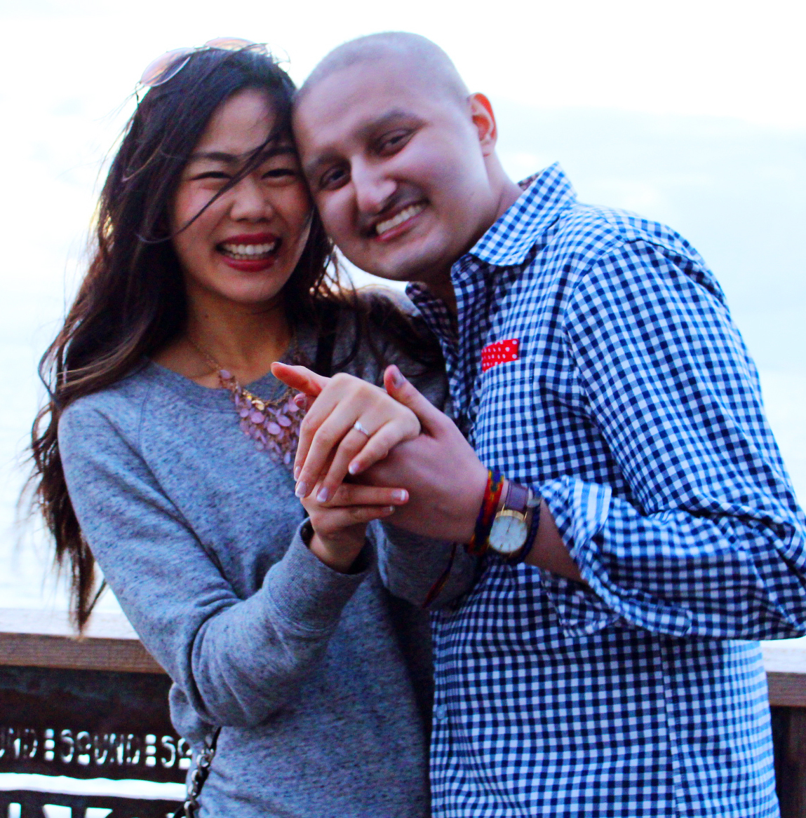 High School Sweethearts Marry Despite Groom's Cancer Diagnosis
