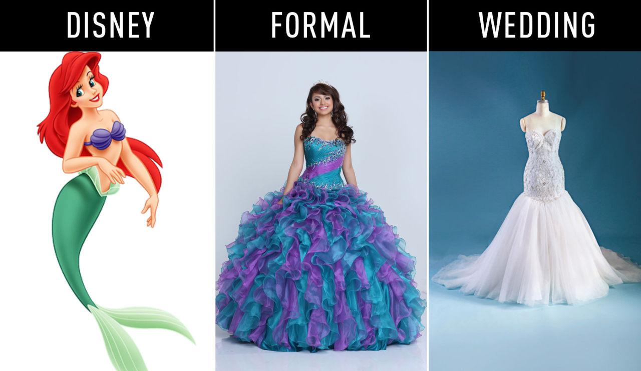 e3d7e317761 Des robes inspirées de vos princesses disney préférées - Mode ...