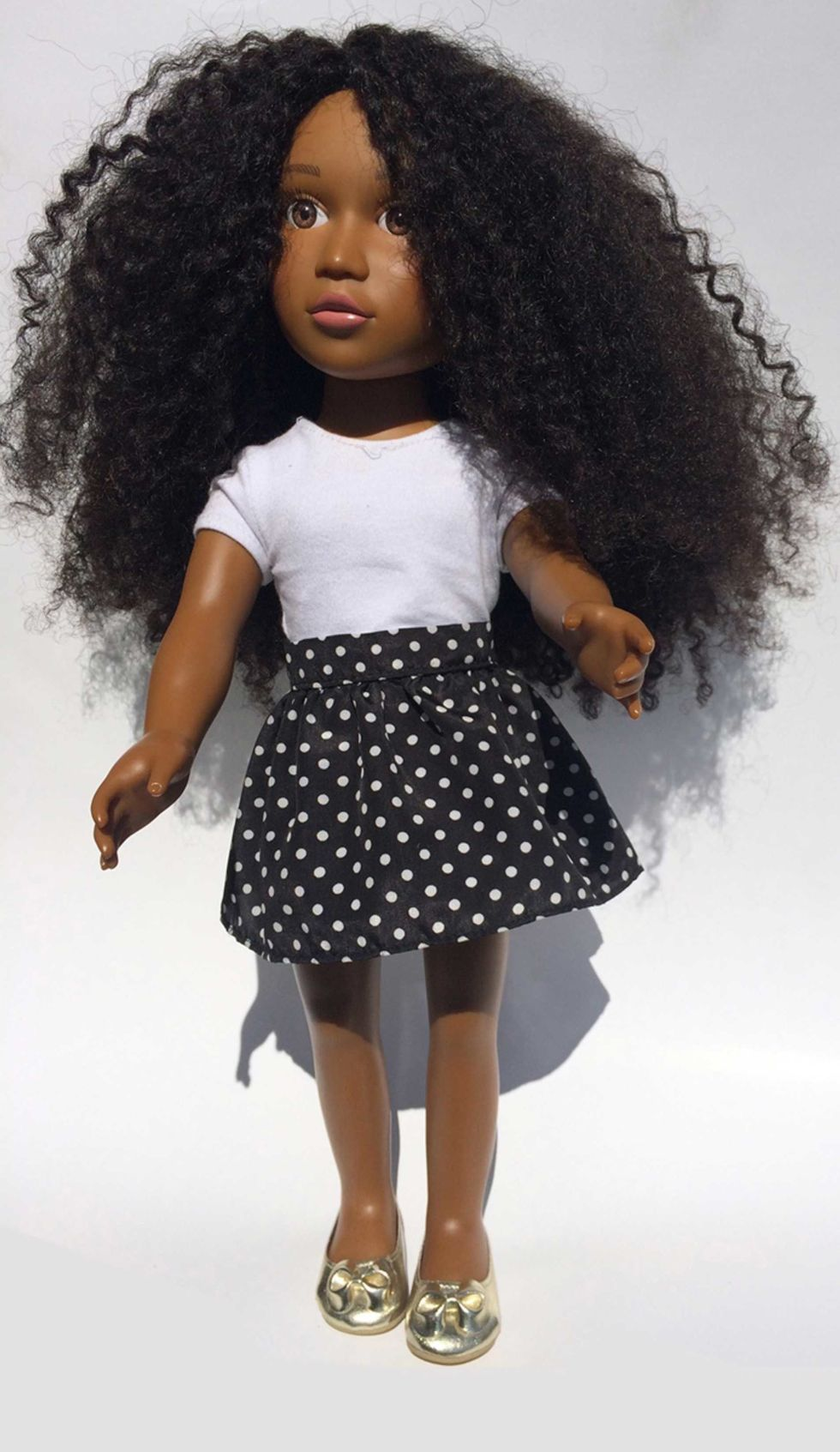Girls with natural hair finally have a doll who looks like