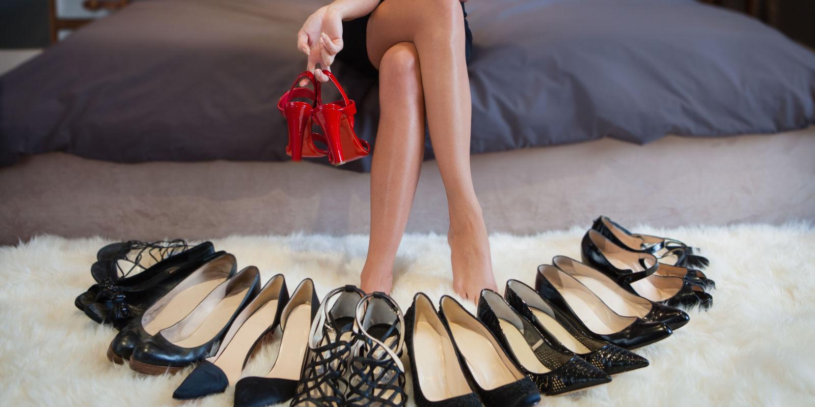 Фото туфель для полных девушек фото