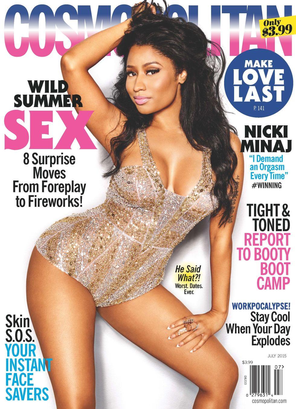 cosmopolitan magazine nicki minaj