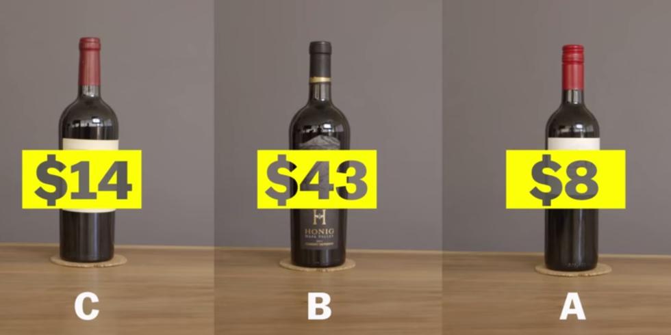 Smart people drink cheap wine