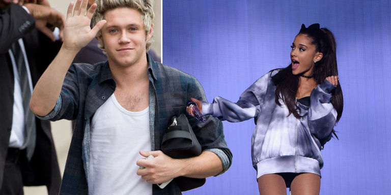 Ariana Grande, Niall Horan Hung Out Last Night, All Night, at His Place