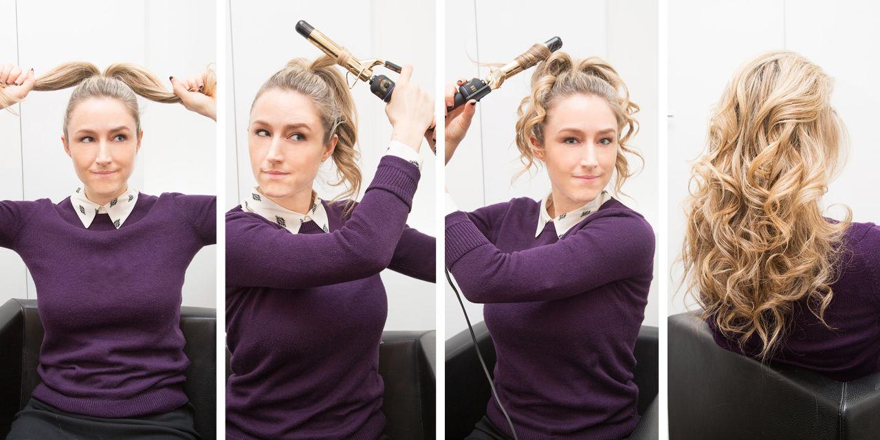 Уложить волосы быстро в домашних условиях