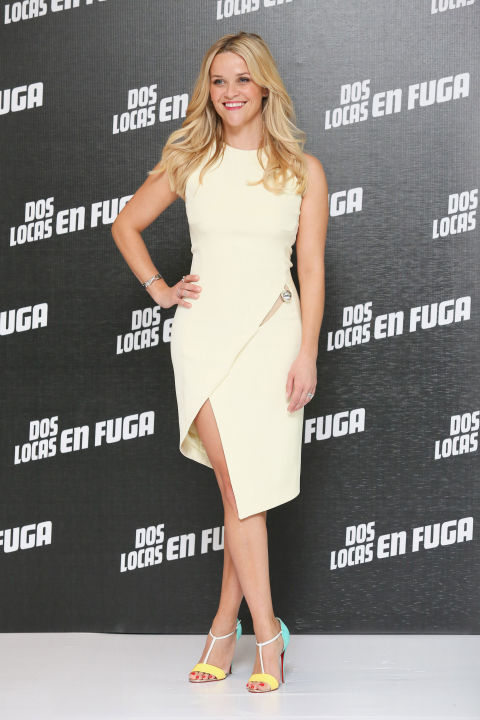 Reese Witherspoon attends a photo-call to promote her new film Hot Pursuit at St. Regis Hotel on June 23, 2015, in Mexico City, Mexico.