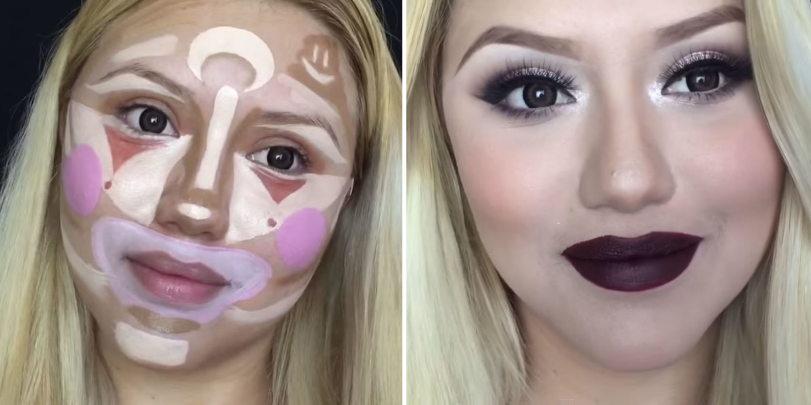 Clown Contouring Is The Next Makeup Trick That Will Make You Look Flawless