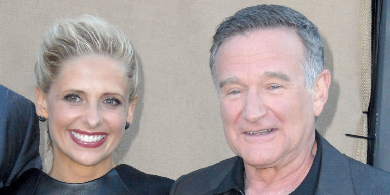Sarah Michelle Gellar Pays Tribute to Robin Williams on One-Year Anniversary of His Death
