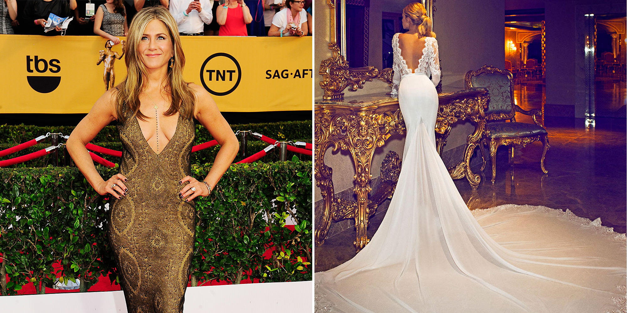 Jennifer Aniston's Viral Wedding Dress Designer Wants To