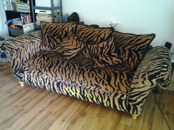 Buy This Spectacular Quot Baby Making Tiger Couch Quot That Comes