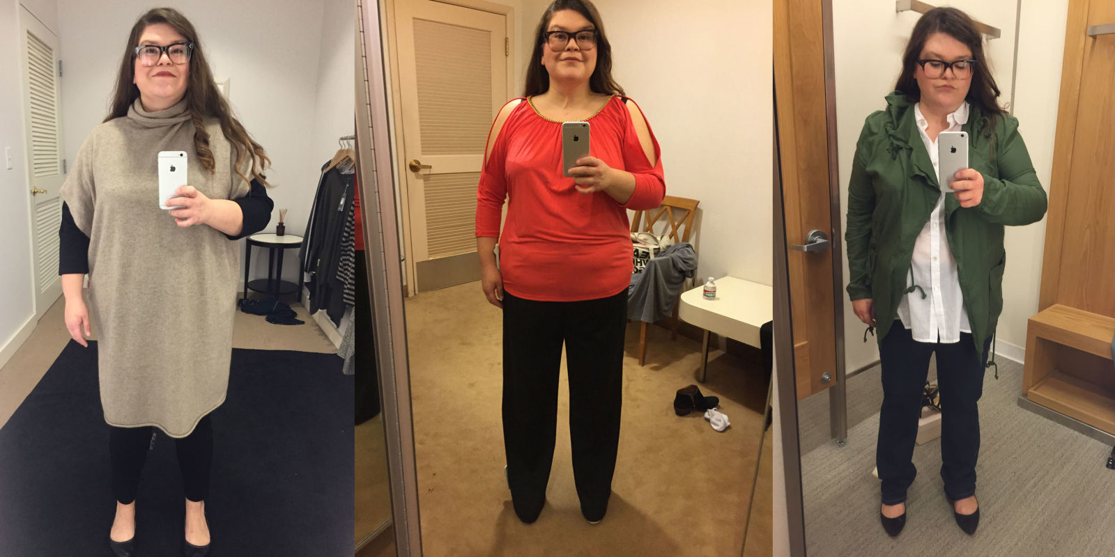 Size 16 Woman Asks 5 Stylists To Dress Her In Flattering Outfits