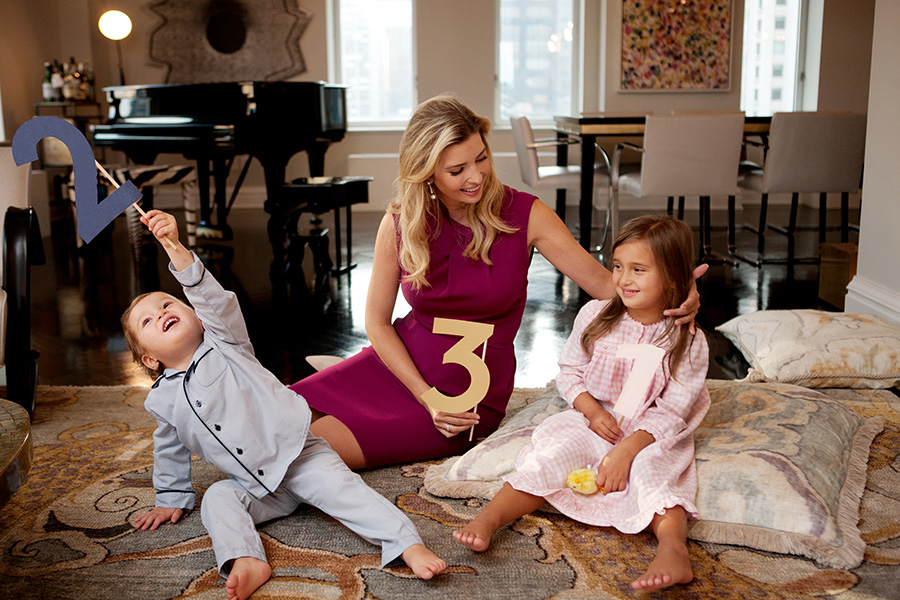 news ivanka trump pregnant with third child