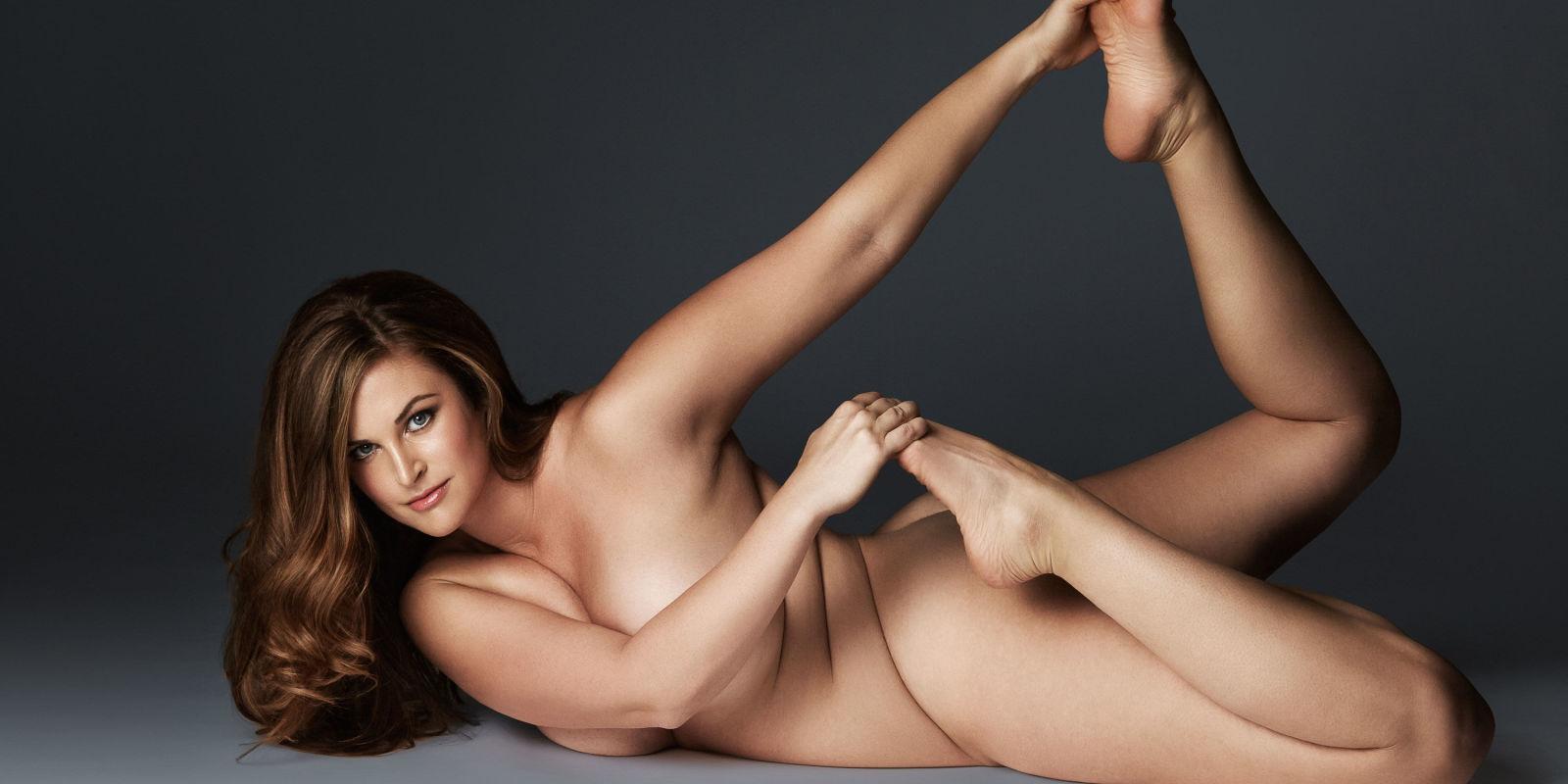 plus size women bottom nude