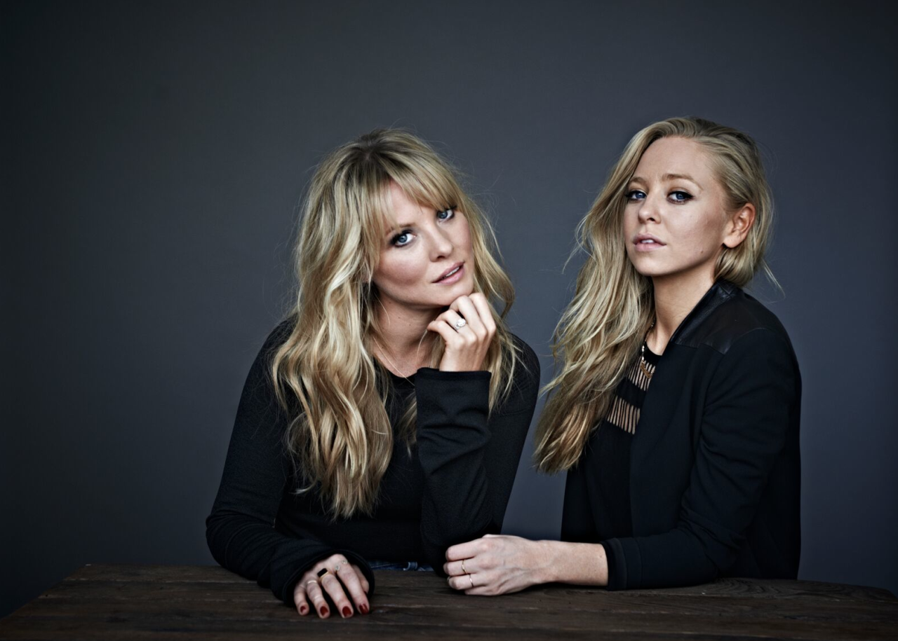 """Interview with :    Sisters Kaitlin and Portia Doubleday, Actress on """"Empire"""" and """"Mr. Robot,"""" Siblin"""