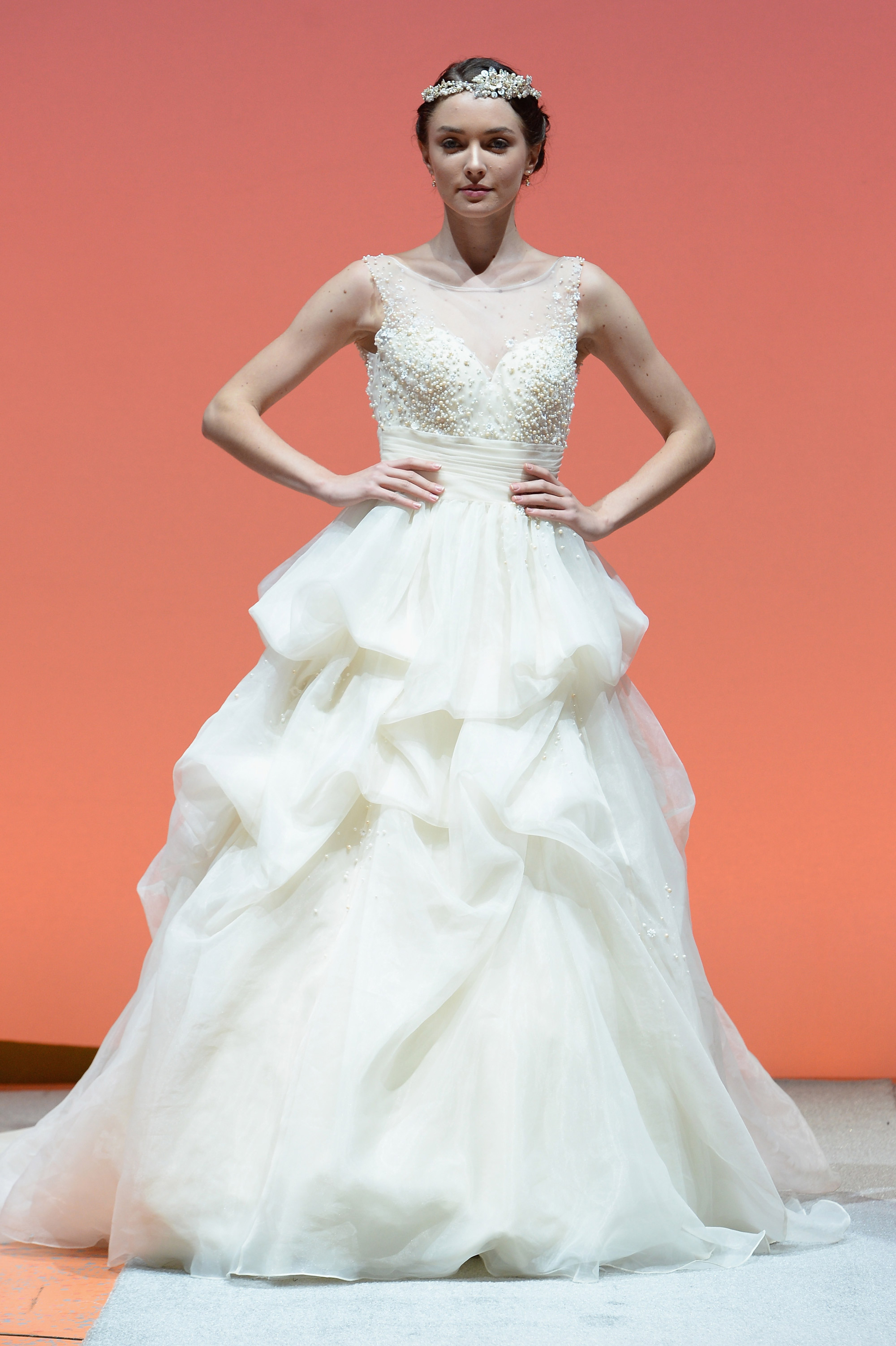 Disney fairy tale weddings collection by alfred angelo for Wedding dress disney collection