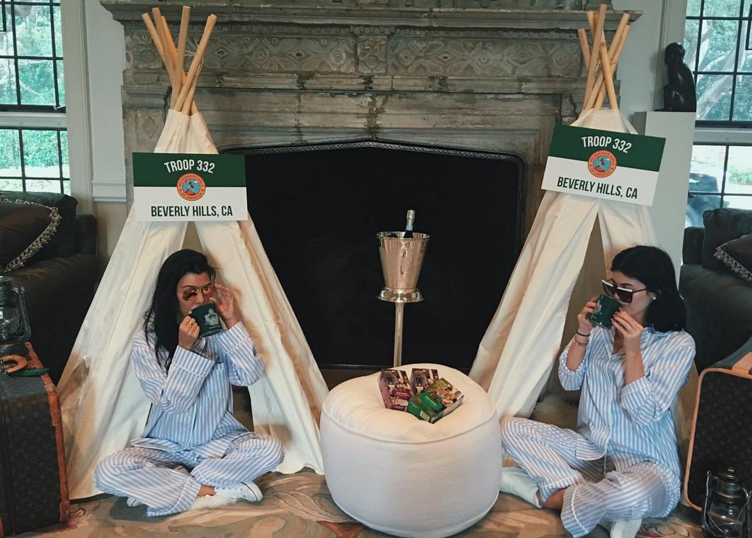 Kim Kardashian S Quot Troop Beverly Hills Quot Themed Baby Shower
