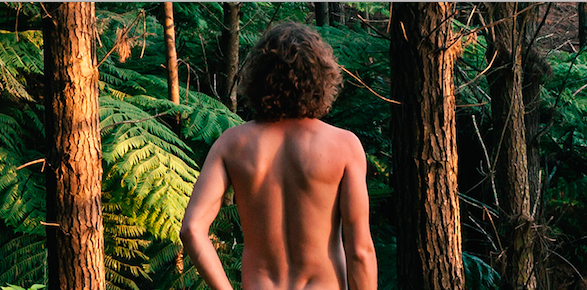 husband camped naked in the woods adventurous husband