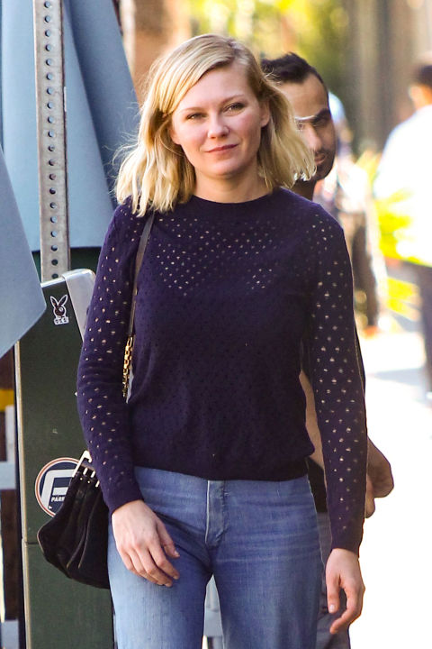 Kirsten Dunst in Los Angeles on Nov. 11, 2015.