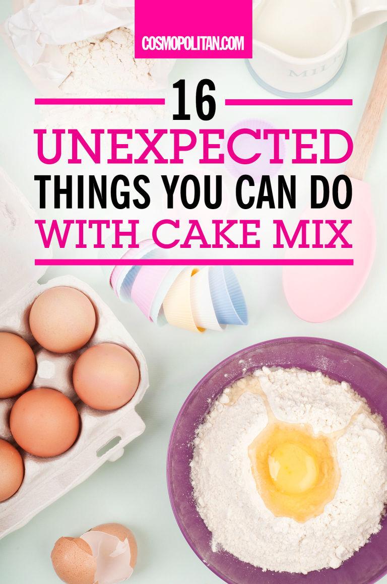Cookie recipe using white cake mix