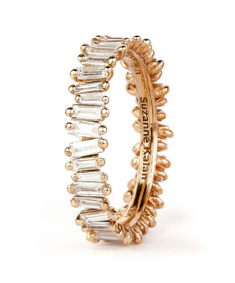 suzanne kalan baguette diamond band ring
