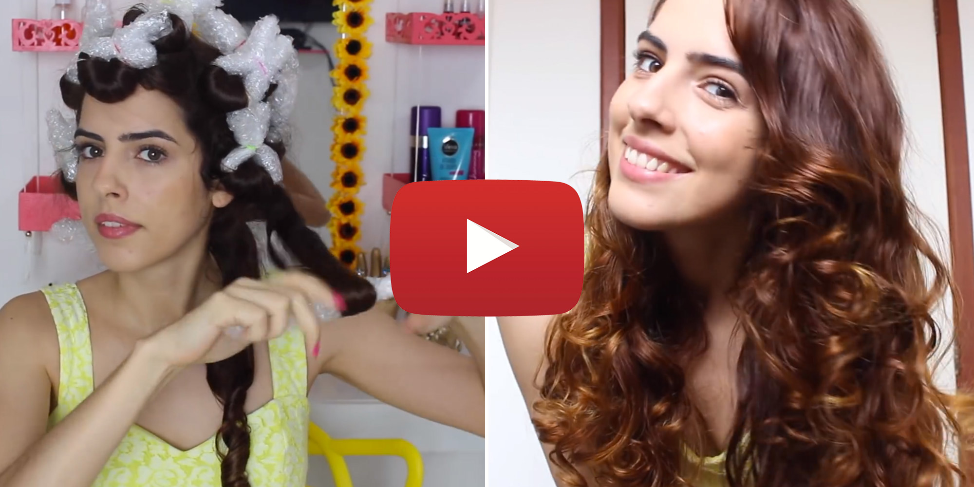 Hacks for Curling Your Hair - How to Curl Your Hair With Bubble Wrap