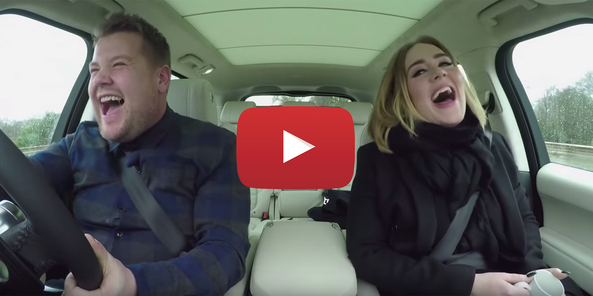 Adele Does Carpool Karaoke With James Corden