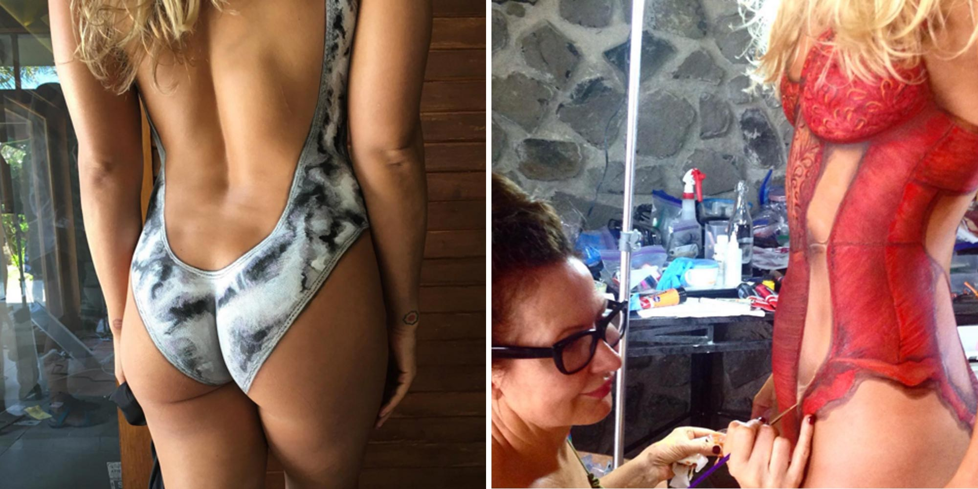 bikini clad girl