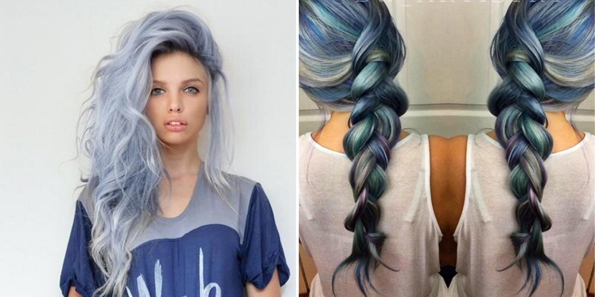 Denim Hair Is The Low-Key Cool Way To Make Your Hair Stand Out