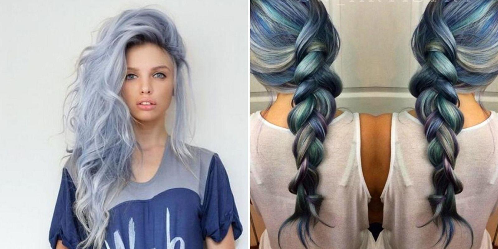 Denim Hair The New Hot Hair Trend Directexpose