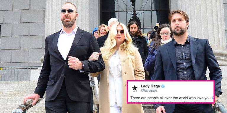 Lady Gaga, Ariana Grande and More Speak out in Support of Kesha