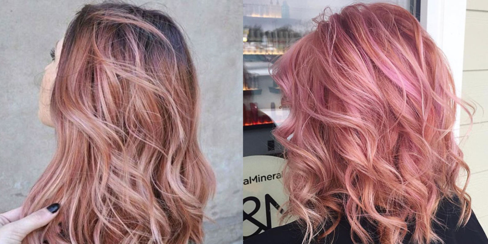 Rose Gold Hair Is The Latest Hair Color Trend To Try
