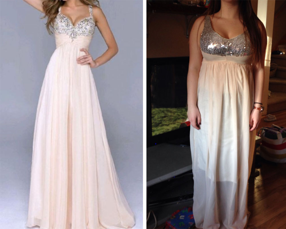 Here S Why You Should Never Buy Your Prom Dress Online