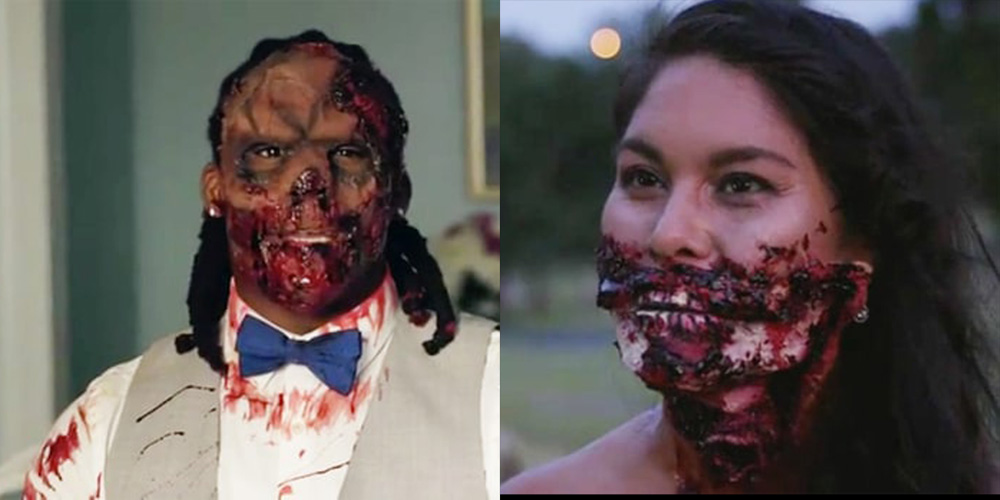 "Zombie Wedding Gifts: ""Walking Dead"" Themed Wedding–NFL Player DeAngelo Williams"