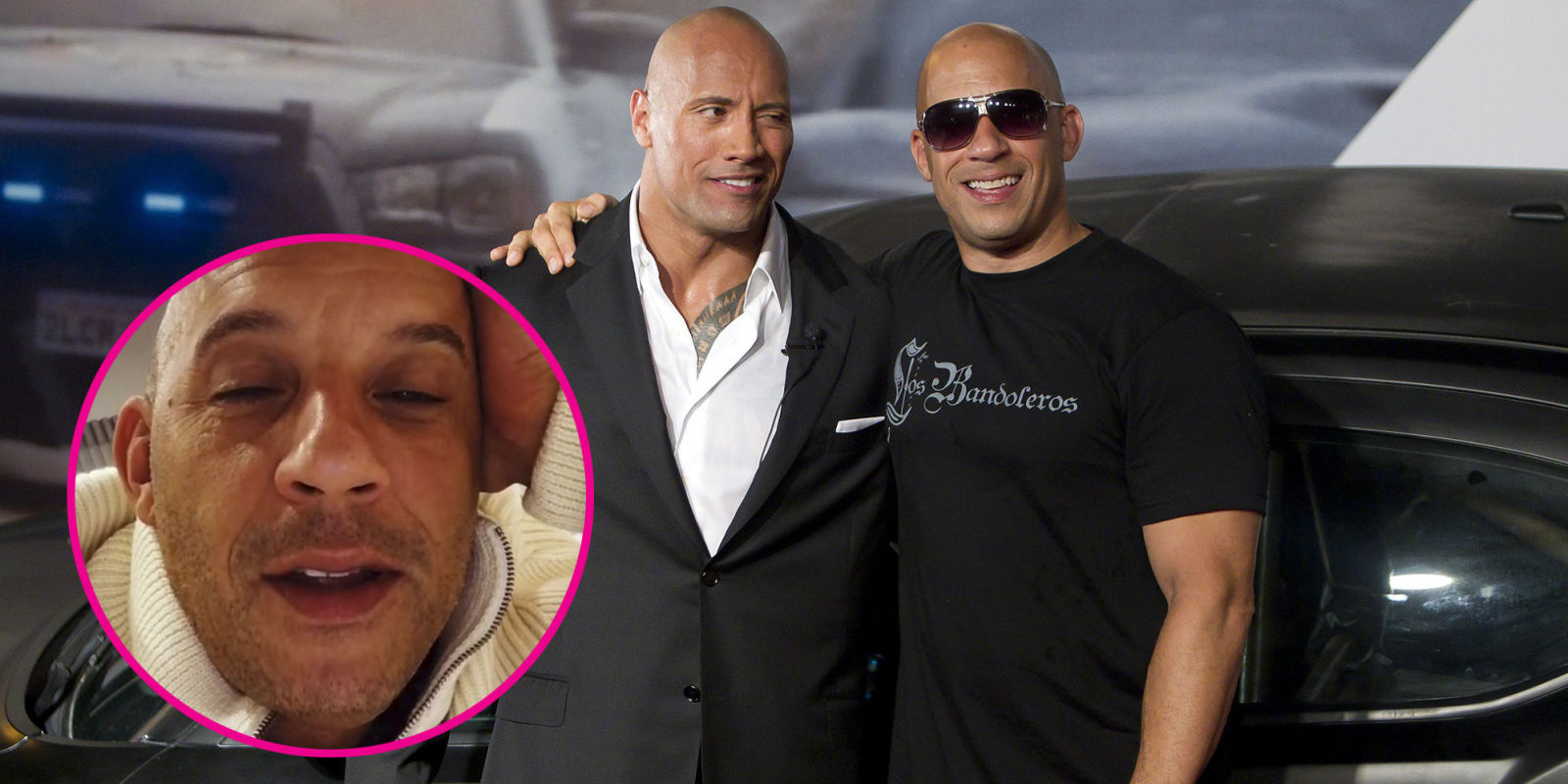 vin diesel posts cryptic video following rumored dwayne johnson feud vin diesel instagram video. Black Bedroom Furniture Sets. Home Design Ideas